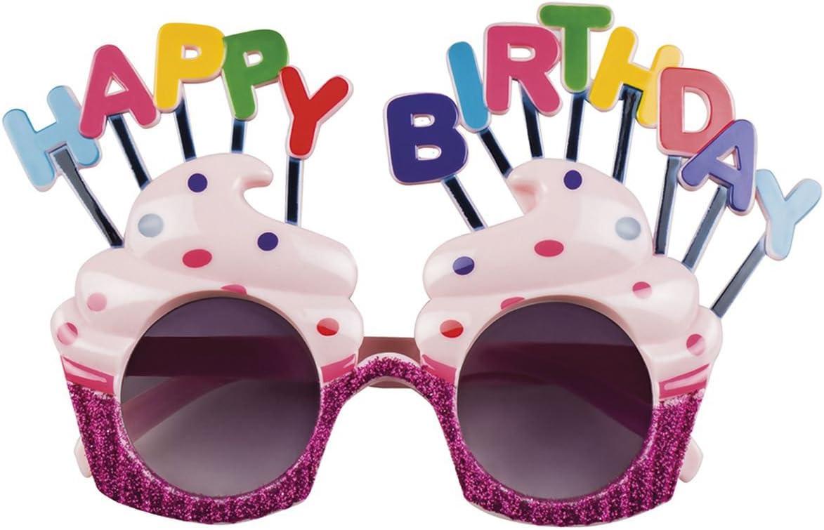 Lunettes Joyeux Anniversaire Anniversaire Lunettes Fête Lunettes anniversaire spaßbrille B-day