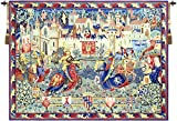 Le Tournoi de Camelot French Tapestry Wall Art