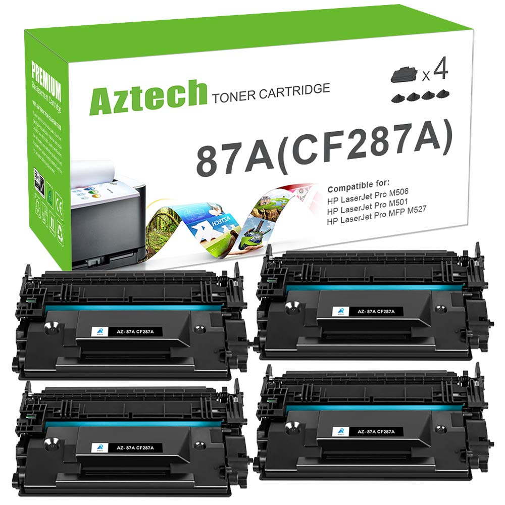 Toner Alternativo ( X4 ) Negro 87A CF287A 87X CF287Xs