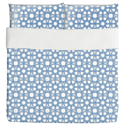 Night Star Duvet Bed Set 3 Piece Set Duvet Cover - 2 Pillow Shams - Luxury Microfiber, Soft, Breathable by uneekee