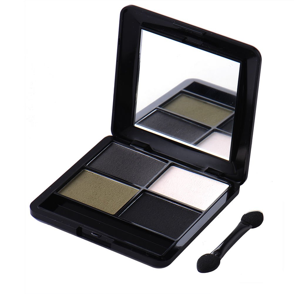 NEW 4Colors Eye Shadow Makeup Party Cosmetic Shimmer Matte Eyeshadow Palette Set Style : 4 by importantshop