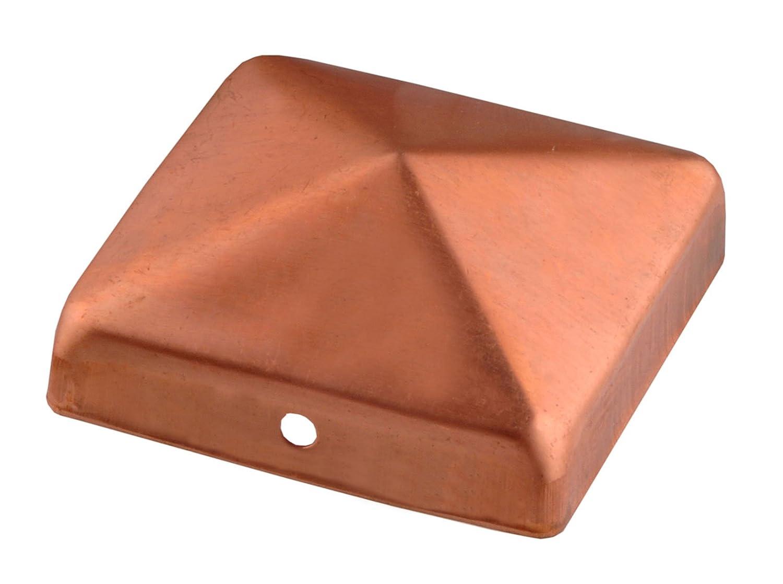 CONNEX HV4297 90 x 90mm Copper Post Caps Conmetall