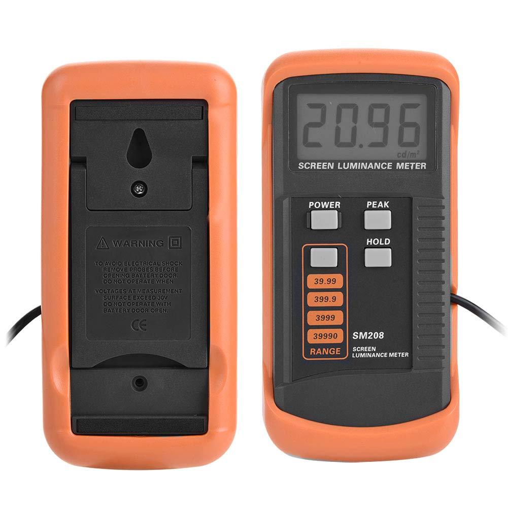 SM208 Dispositivo de Control de Luminancia de Pantalla Portátil con Mini Detector de Luz 0.01-39990 cd/m: Amazon.es: Bricolaje y herramientas