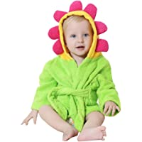 Lexikind Kapuzenhandtuch Baby: Frottee Bademantel - Babyhandtuch mit Kapuze - Kapuzenbadetuch