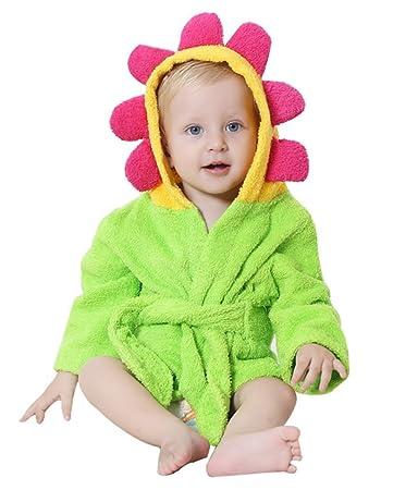 Kapuzenbadetuch Baby Bademantel Badetuch mit Kapuze Kapuzenhandtuch Waschlappen aus Bio-Bambusfaser S/ü/ß Weich Hautfreundlich Saugf/ähig 90 90 cm Gelb