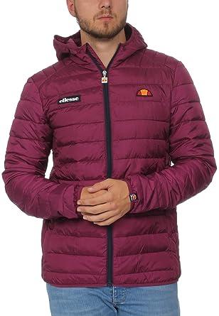 7a5dc2af0a9a ellesse Jacke Herren LOMPARDY Padded Jacket Lila Purple  Amazon.de   Bekleidung