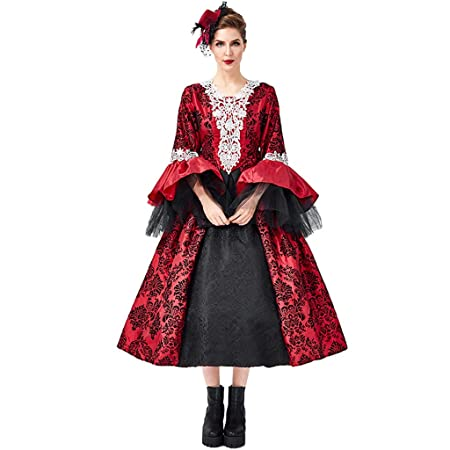 Vestido de la Vendimia Falda de Las señoras Cosplay gótico ...