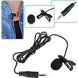 BOYA Solapa omnidireccional Micrófono de condensador de 20 pies - Audio para Cables para réflex digitales Videocámaras Cámaras de vídeo y Iphone Móvil Iphone 6