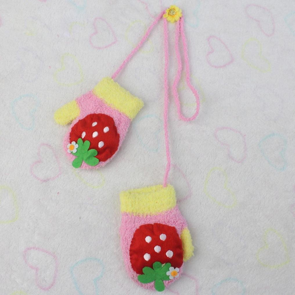 Amiley baby gloves Infant Baby Girls Boys Winter Warm Gloves