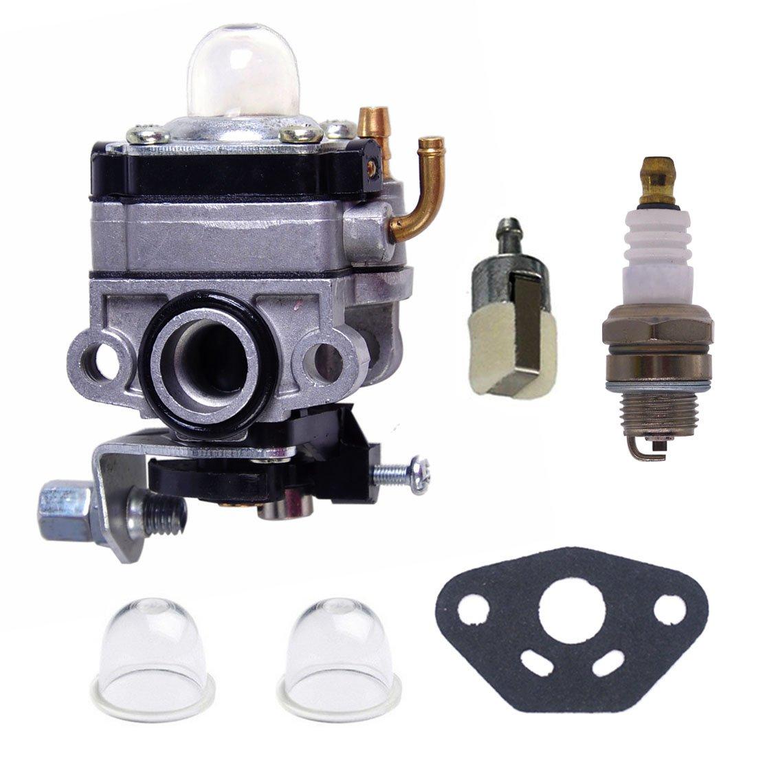 Amazon.com: Atoparts Carburetor Fuel Filter Primer Bulb Shindaiwa T282  T282X String Grass Trimmer Brushcutter: Garden & Outdoor