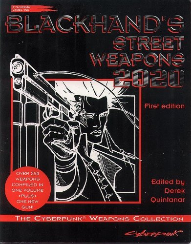 In this, the definitive guide to street weaponry, noted Solo Morgan Blackhand has compiled statistics and information on every knife, pistol, submachine gun, bullet, grenade, and piece of personal artillery available in 2020. Prices, damage capabilit...