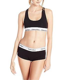 6c4463576aeb Amazon.com: UNIWIN Women's Combed Cotton Sport Bra and Panty Set ...