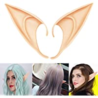 COOLJOY 1 Pair Cosplay Fairy Pixie Elf Ears Accessories Halloween Party Anime Party Costume (Long Style)