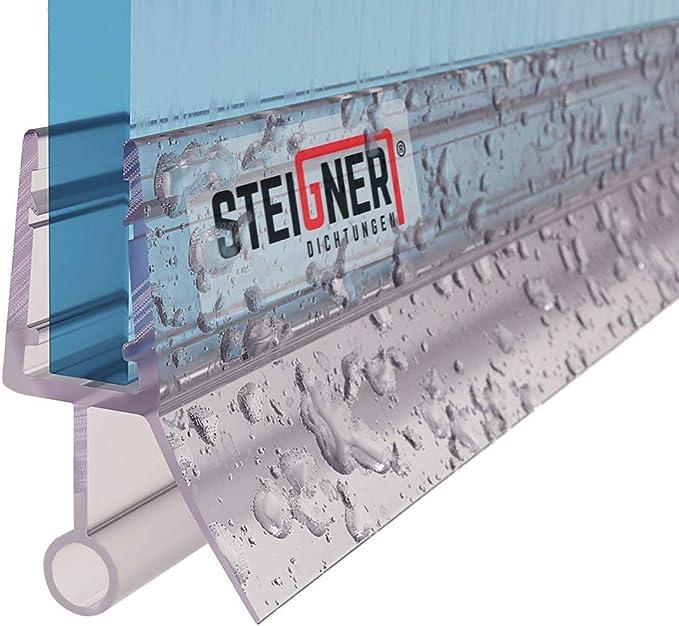 STEIGNER 90 cm Junta Repuesto Para el Vidrio 3,5mm/4mm/5mm Junta Vierteaguas de Ducha UK18: Amazon.es: Bricolaje y herramientas