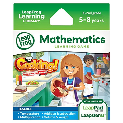 [LeapFrog Cooking Recipes On The Road Learning Game (works with LeapPad Tablets and Leapster GS)] (Leapster 2)