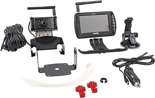 Pro User Drc4340 20134 Digitales Funk Rückfahrkamerasystem Für 12v Und 24v Systeme An Wohnwagen Wohnmobilen Anhängern Lkws Etc Mit Externen Antennen Für Lange Entfernungen Auto