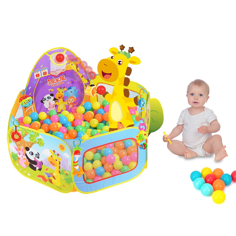 SKL Play Tent,Baby / Kids Playpen Ball Pit Pool Indoor and Outdoor with Toddler Children Toys for Kids Gifts Baby1501