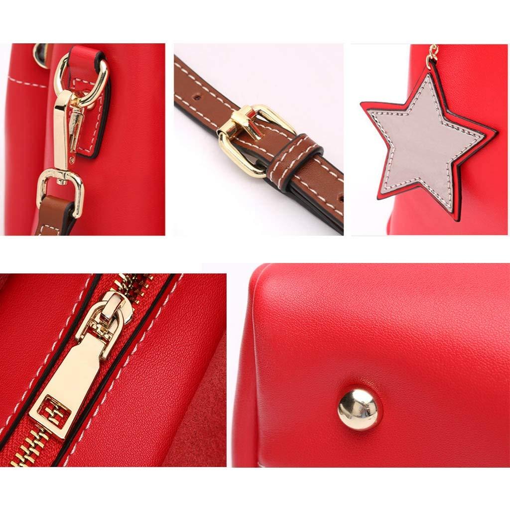 Leder Damen Schultertasche Handtasche Große Kapazität Bucket Bag Commuter Commuter Commuter Bag B07Q2452XY Schultertaschen Jahresendverkauf 51a62e
