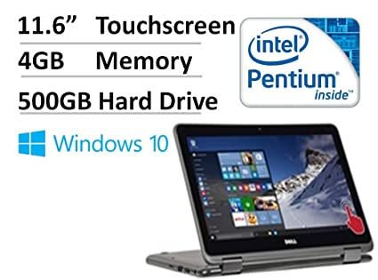 2ec6e81c2 Dell Inspiron 11.6 quot  HD 2-in-1 Convertible Touchscreen Laptop (Tablet)