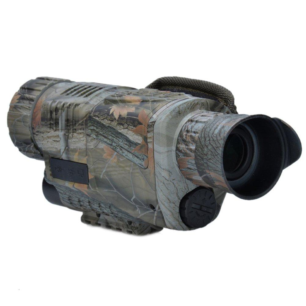 InsunナイトビジョンデジタルカメラMonoculars赤外線Spy Camo 5 x 40 mm B01LWL7V4U  迷彩