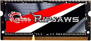 G.SKILL Ripjaws Series 4GB 204-Pin DDR3 SO-DIMM 1600 (PC3 12800) Laptop Memory Model F3-1600C11S-4GRSL