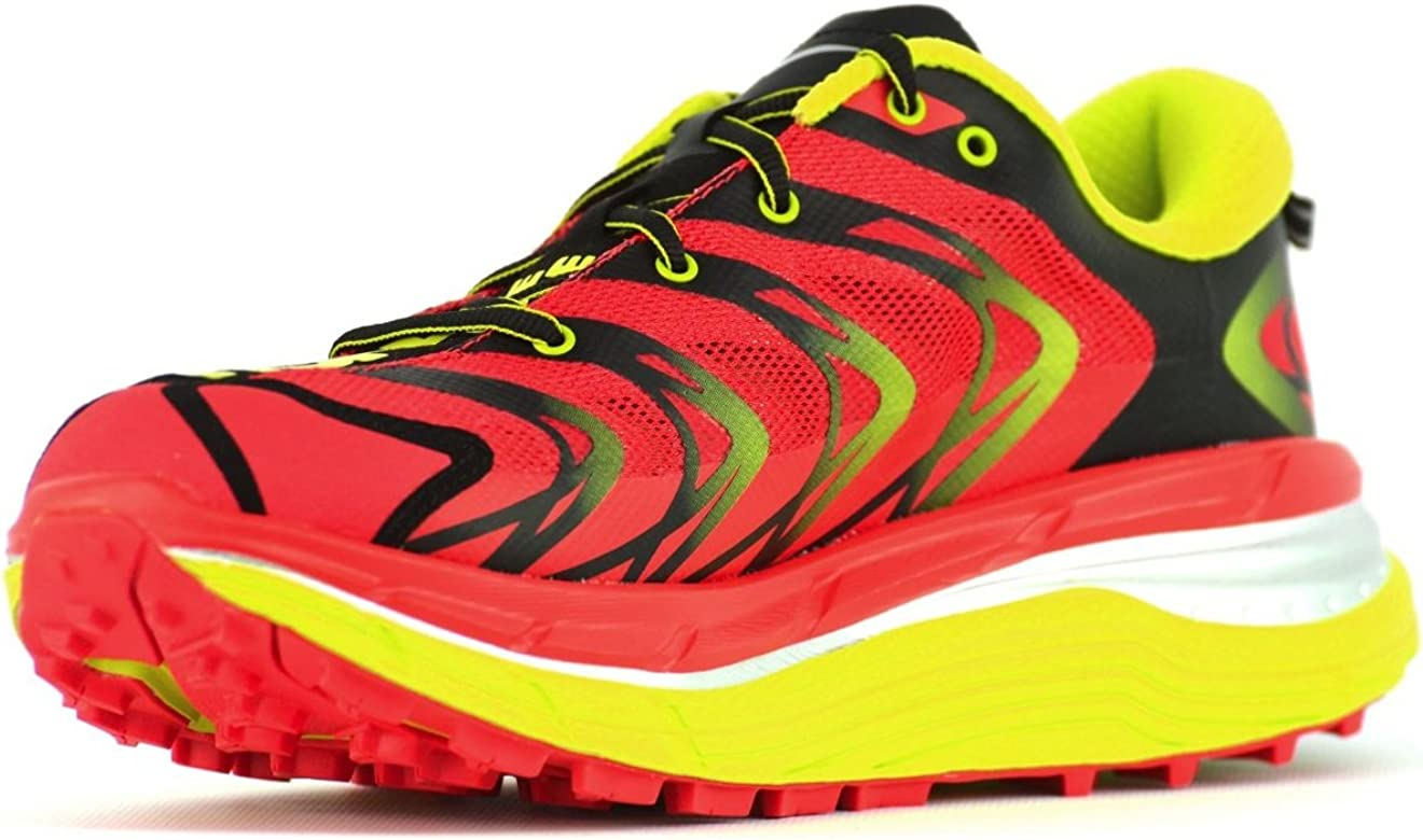 Zapatilla trail running Hoka Speedgoat 2, color rojo, talla 40 1/3 EU: Amazon.es: Zapatos y complementos