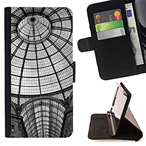 DEVIL CASE - FOR Samsung Galaxy Core Prime - Architecture New York Metro Station - Style PU Leather Case Wallet Flip Stand Flap Closure Cover