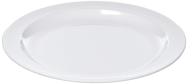 10.25-Inch White Winco USA Winco MMPR-10W Round Melamine Plate