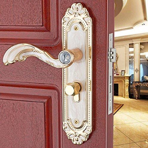 Baoblaze Aluminum Door Handle Sets Lever LATCH LOCK BEDROOM BATHROOMPRIVACY PACKS #2 by Baoblaze (Image #9)