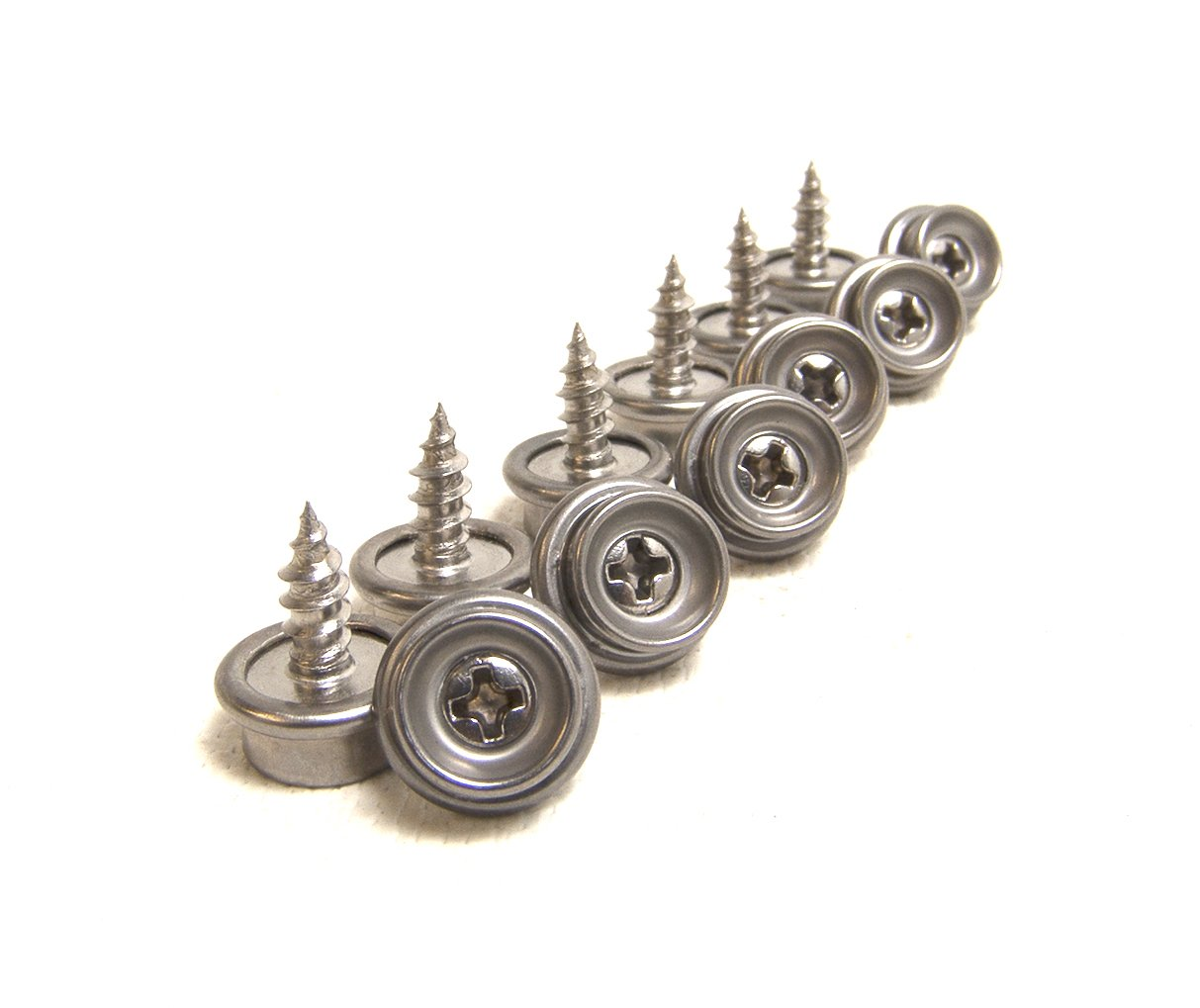 Shipped from The USA! Screw Stud 3//8 100/% Stainless Steel Construction 25 Piece Set
