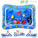 MAGIFIRE Water Tummy Time Mat, Baby Water Play Mat for Infant Toddler Toy, Activity Center Inflatable Toy for Sensory...
