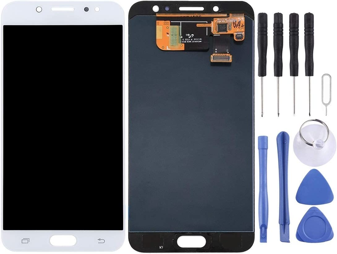 NA Replacement LCD Display +Touch Screen for Galaxy LCD Display Color : White Touch Panel for Galaxy C8 C7100 C710F//DS FURUMO Black