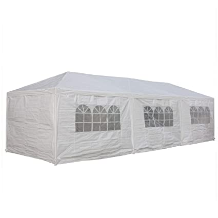 10/'x 30/' Party Tent Wedding Commercial Gazebo Pavilion Cater Marquee Canopy New