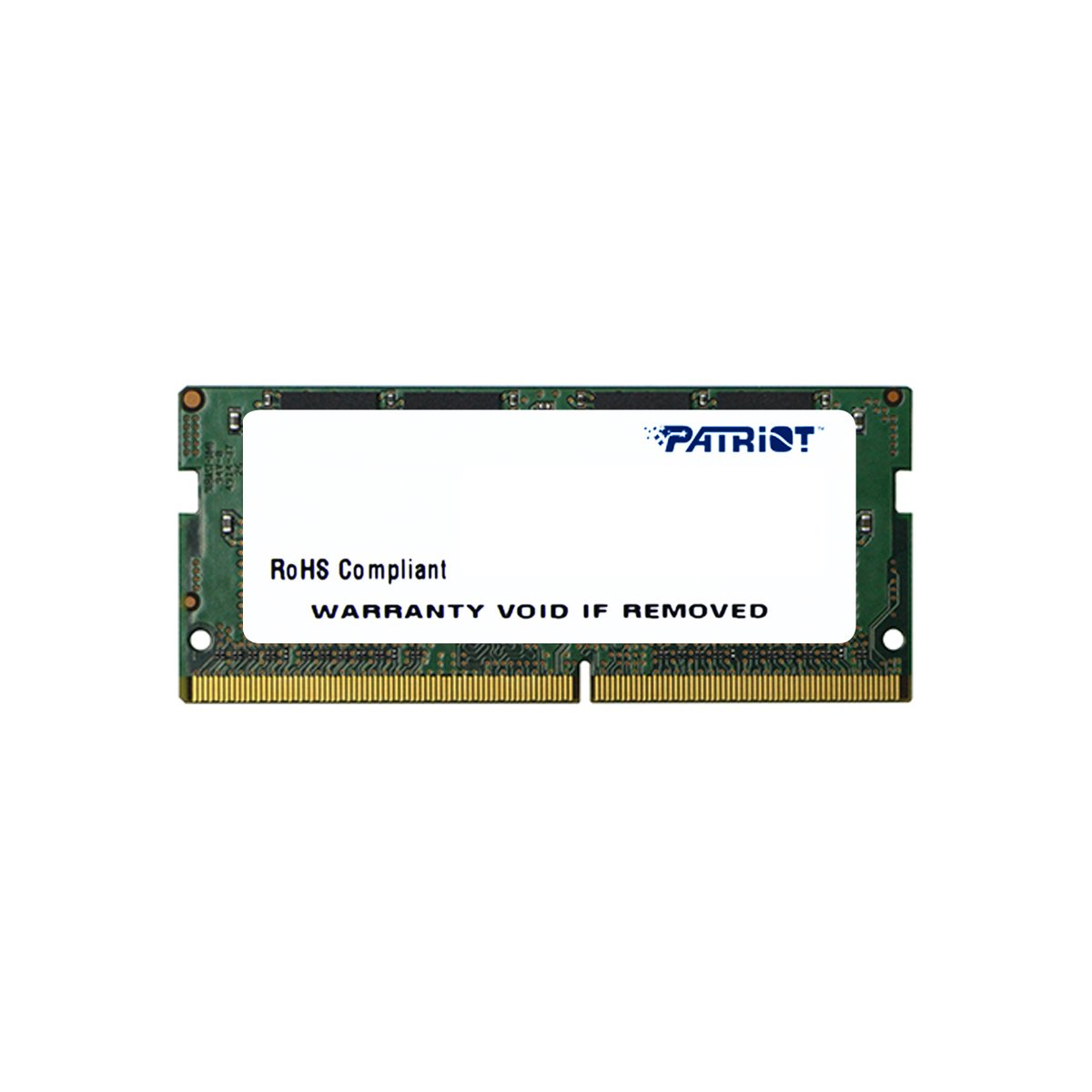 Patriot Memory Signature Line DDR4 16GB (1x16GB) SODIMM Frequency: 2400MHz (PC4-19200) 1.2 Volt - PSD416G24002S