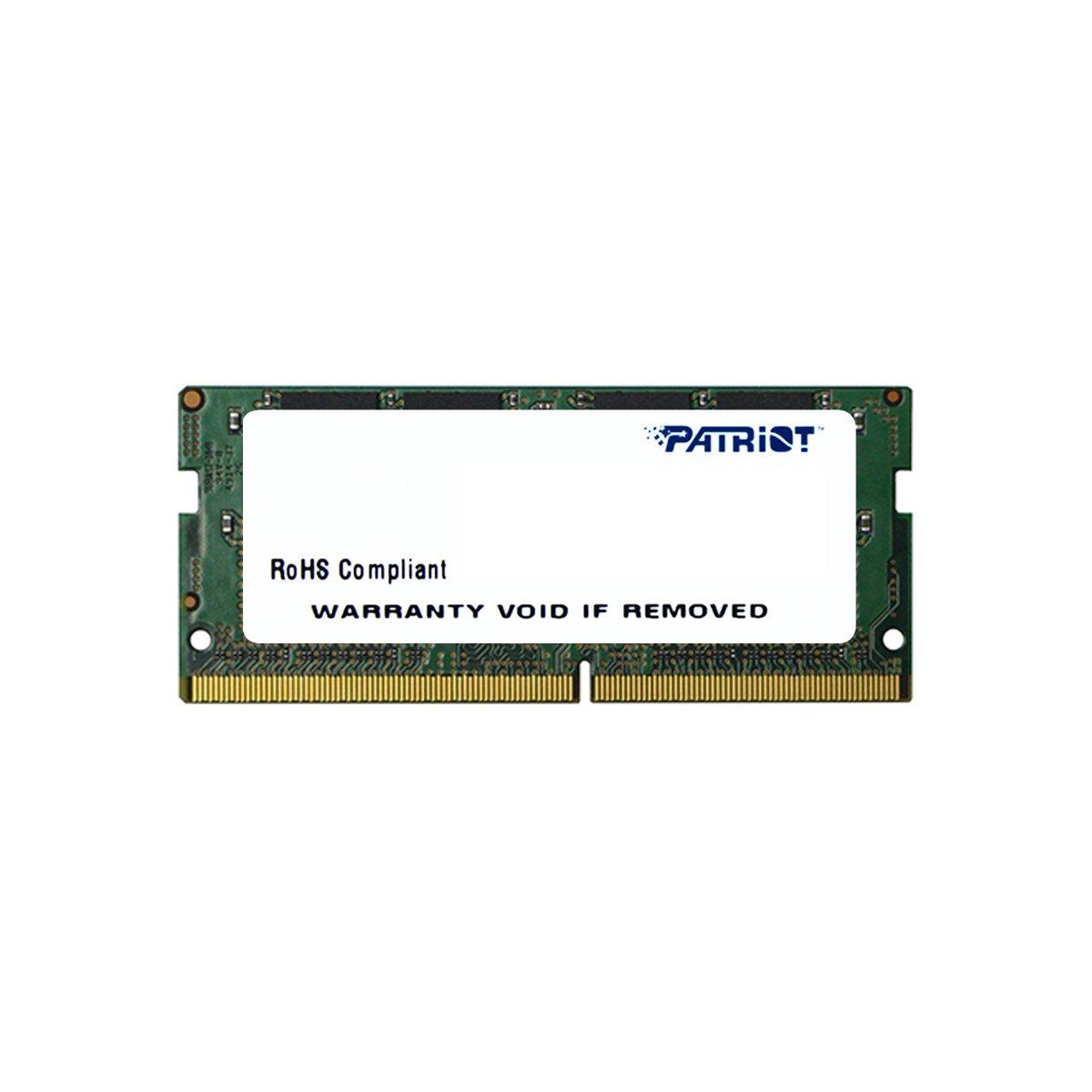 Memoria Ram 8gb Patriot Signature Line Ddr4 (1x8gb) 2133mhz (pc4-17000) Sodimm - Psd48g213381s