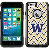 Coveroo Commuter Series Case for iPhone 6 Plus - Retail Packaging - University of Washington Sketchy Chevron