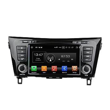 Android 8.0 Octa Core Autoradio Radio DVD GPS navegación Reproductor multimedia estéreo de coche para Nissan