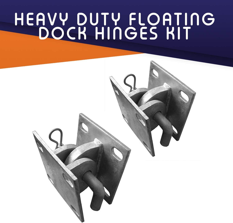 Dock Edge Floating Dock Hardware Renewed