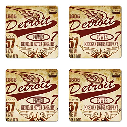 Detroit Red Wings Coasters Red Wings Coasters Red Wing