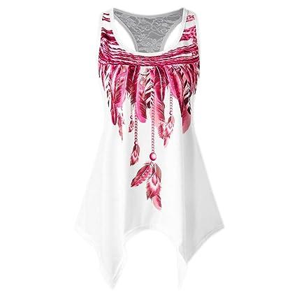 Amazon.com  Women Summer Racerback Tank Top Vest Cuekondy Fashion ...