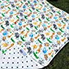 Everything Baby Toddler Blanket - Security Crib Stroller To Car Seat, Jungle