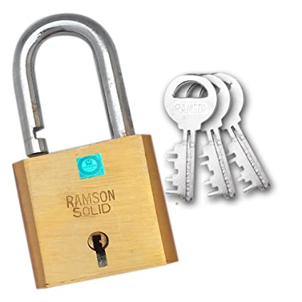 Ramson Solid Brass Lock with 12 Levers