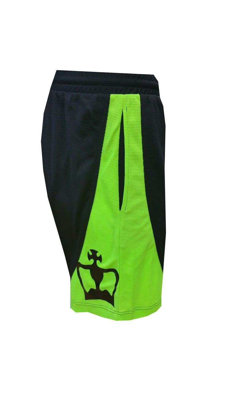 Pantalón Padel Black Crown Hombre Ball-Negro/Verde-S: Amazon ...