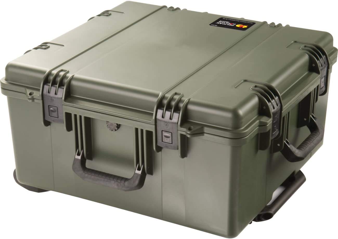 Dry Box Waterproof Case   Pelican Storm IM2875-30000  Pelican Storm iM2875 without Foam, Olive Drab
