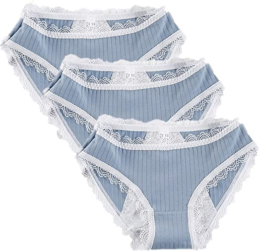 wersdf Bragas Menstruales Bragas Mujer Algodon Pack Braguita ...