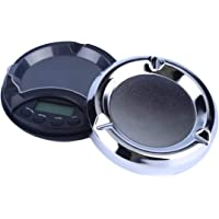 200g / 0.01g Bilancia tascabile digitale ad alta precisione con scala di cenere Stile di pesatura Bilance Metalli Gemme Display LCD Bilancia digitale