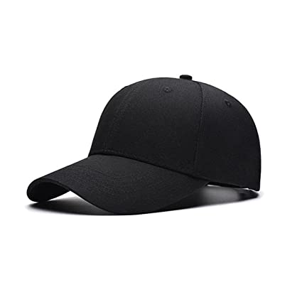 c33bf5f9f5b Amazon.com  TRADERPLUS Cotton Plain Baseball Cap Blank Hat Solid ...