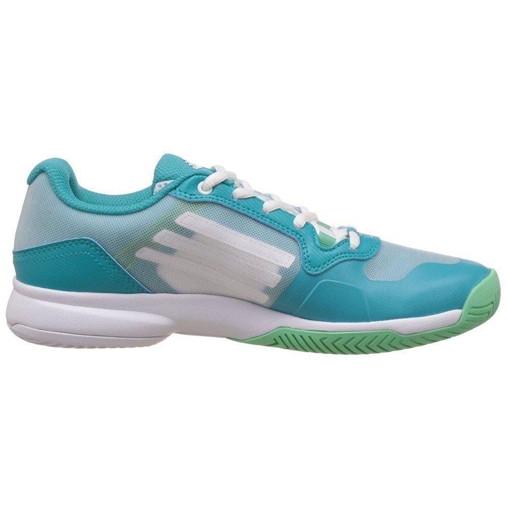 info for 75a1a 8808c adidas - Sonic Court W - AF5801 - Farbe Grün-Türkisfarbig-Weiß - Größe  36.6 Amazon.de Schuhe  Handtaschen