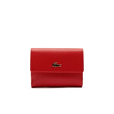 Lacoste Nf1957ce - Cartera para hombre high risk red 883 9,5 ...