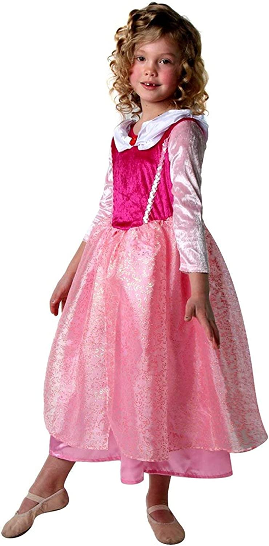 Classic Storybook Princess Dress 3 Pack Set 2//4, Hot Pink//Pastel Pink//Pink